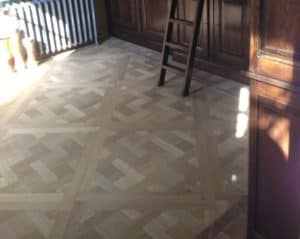 Mozaik parket Houtinterieur