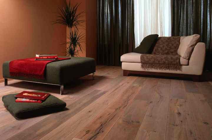 plankenvloer in living salon