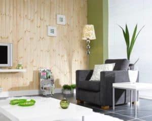 wanden en plafonds hout