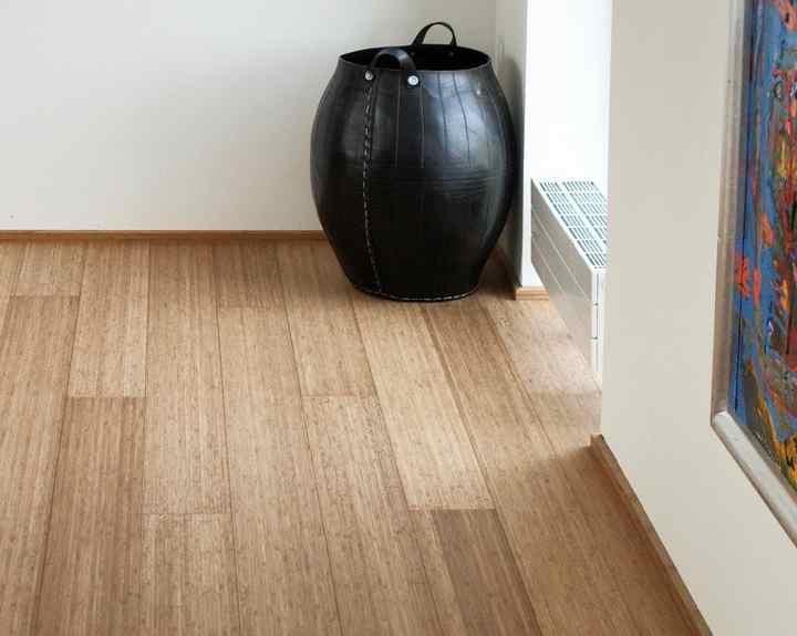 Bamboe vloer living