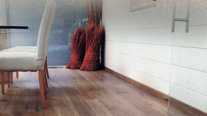 Eiken planken en eiken parket klassiek of modern houtinterieur